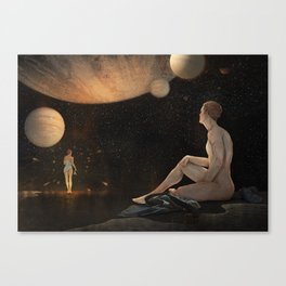 So much for gravity Canvas Print