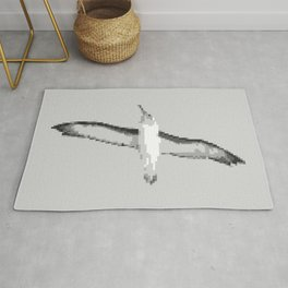 Minimalist Albatross Rug
