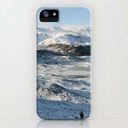 Secret Glacier-Iceland iPhone Case