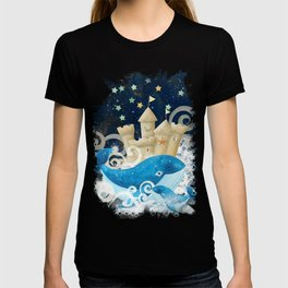 Sandcastle Waves Whales T-shirt