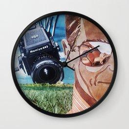 Creep Wall Clock