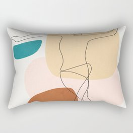 Summer Dance I Rectangular Pillow