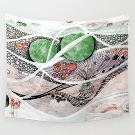 Space Planet Star Abstract Wall Tapestry