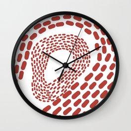 Leave a Footprint Wall Clock