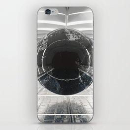 warped orb iPhone Skin