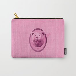 Hunting Series - The Pink Bear Head Carry-All Pouch