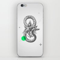 psychology iPhone & iPod Skins featuring Archetypes Series: Rebirth by Attitude Creative