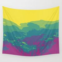 tennessee Wall Tapestries featuring The Mountains of Tennessee by Kristin H. Rommel