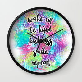 Mindset Wall Clock