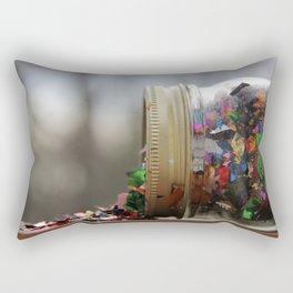 Sparkle Spill  Rectangular Pillow