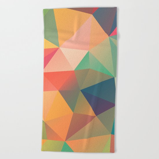 Geometric XIV Beach Towel