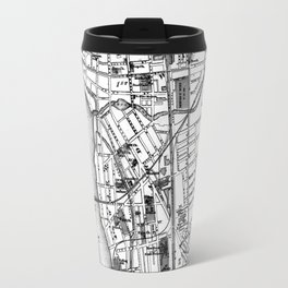 Vintage Map of Trenton NJ (1872) Travel Mug