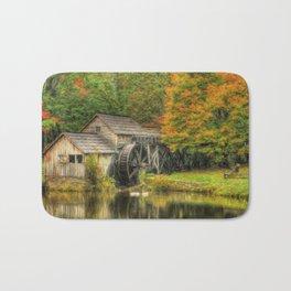 A Mabry Mill Autumn Bath Mat