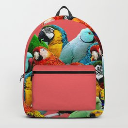 watermelon interior parrots design Backpack