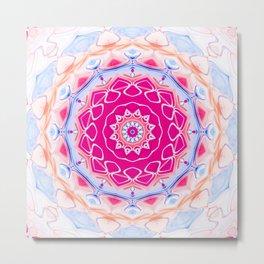 Star Flower of Symmetry 410 Metal Print