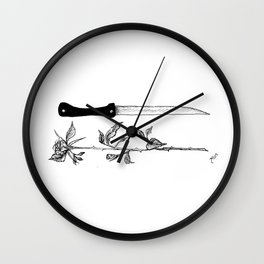 Don't look at me Wall Clock