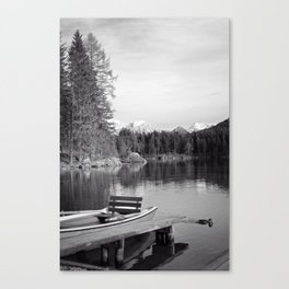black and white magic II Canvas Print