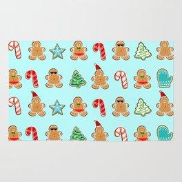 Naughty or Nice Gingerbread Rug
