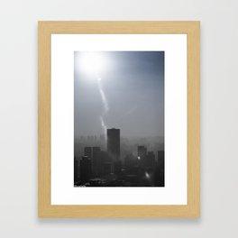 Smog Framed Art Print