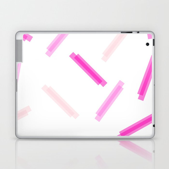LINA ((the pinks)) Laptop & iPad Skin