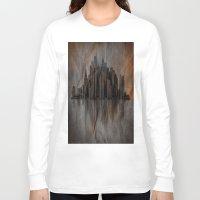 metropolis Long Sleeve T-shirts featuring Metropolis by Robin Curtiss