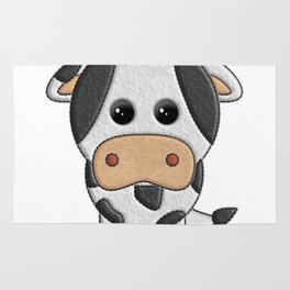 Vaquita de peluche - Cow of teddy Rug