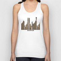 denver Tank Tops featuring Denver by bri.buckley