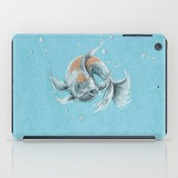 koi fish iPad Cases featuring Koi Fish by Daydreamer