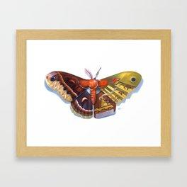Cecropia Bot Framed Art Print