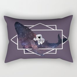universe in whale Rectangular Pillow