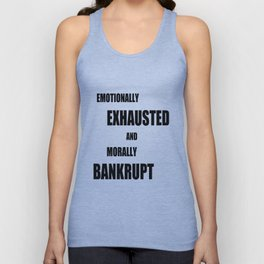 Emotionally Exhausted Unisex Tank Top