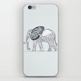C13D Butterfly Elephant iPhone Skin