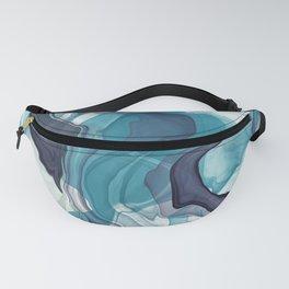 Sea swirl Fanny Pack