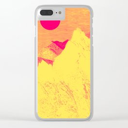 Hast thou no voice, O Peak Clear iPhone Case