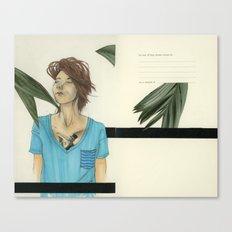 V-Necks & Their Shady Depths Canvas Print