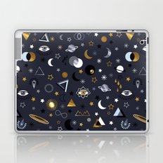 Galaxy ( gold and silver sky)  Laptop & iPad Skin