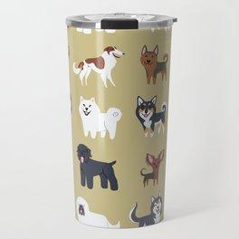 RUSSIAN DOGS Travel Mug