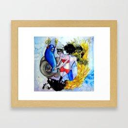 Acquiesce (The Nightmare) Framed Art Print