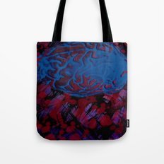 Synapses Firing Tote Bag