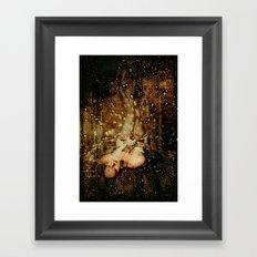 Figure in Stars Framed Art Print