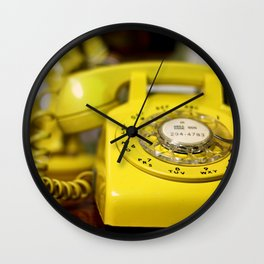Here's  my number, call me Baby ! Wall Clock