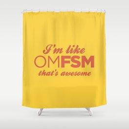OMFSM Shower Curtain