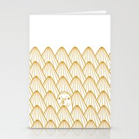 donut Stationery Cards featuring Donut by Jarvis Glasses