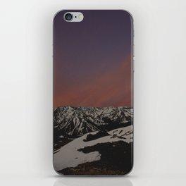 Sunset on Elbert iPhone Skin