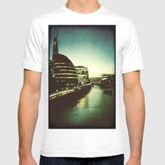 The City Mens Fitted Tee MEDIUM White
