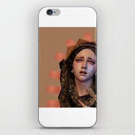 Our Lady of Sorrows. iPhone Skin