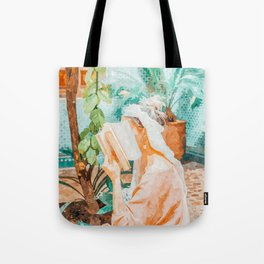 Turkish Reader Tote Bag