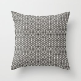 Decorative Triangles Pattern Throw Pillow