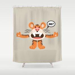 Hug? - Every creature needs love #011 Shower Curtain