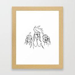 three comrades Framed Art Print